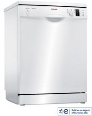 Bosch 60cm Wide A++ Rated 12 Place Setting Dishwasher SMS25AW00G (White)